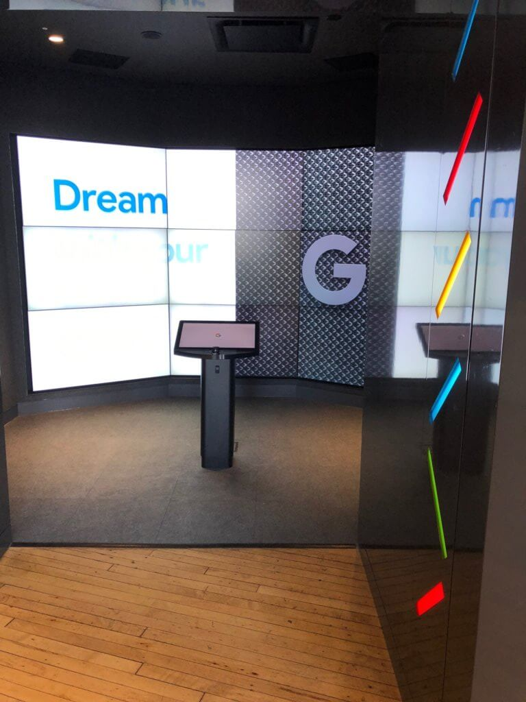 team building workshop at Google in New York City