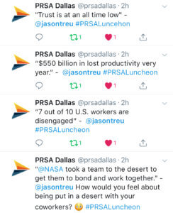 PRSA Dallas Jason Treu Team Building and Maximizing team performance and innovation