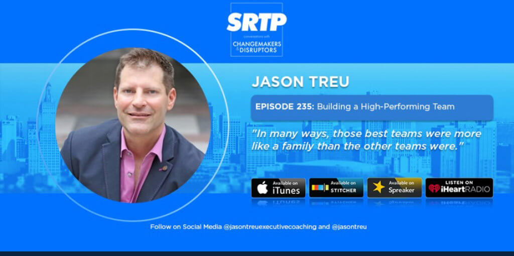 Stop riding the pine Podcast with Jason Treu